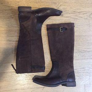 UGG Australia Castille Boots • Java Brown Size 9.5
